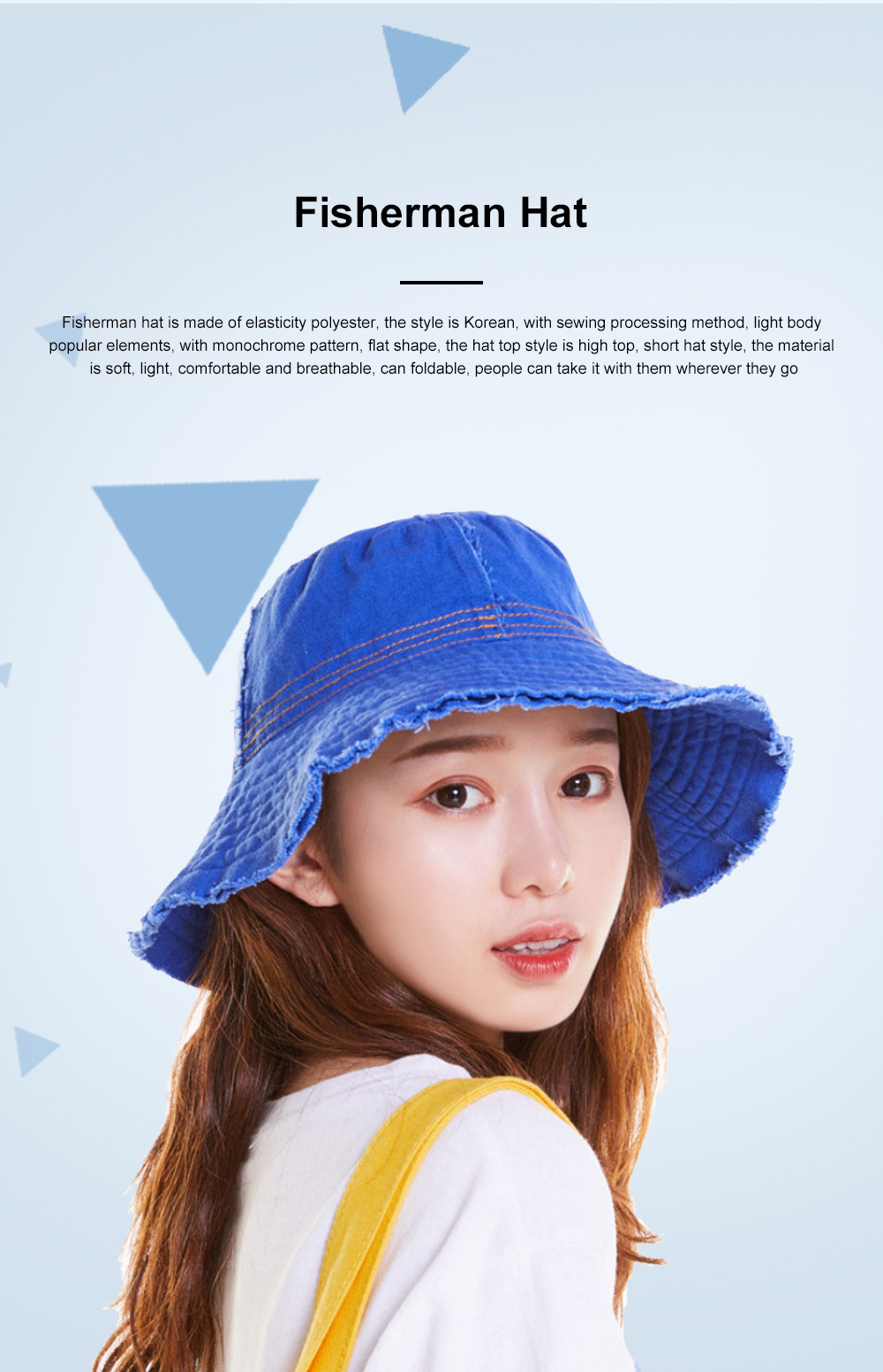 Japanese Hairline Cowboy Fisherman Hat Female Autumn Winter Sun Hat Personality Wild Hat Cap Folding Washable Cloth Cap 0