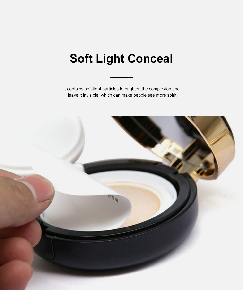 Skin Rejuvenating Air Cushion Daily Color Correcting CC Cream Send Replacement Waterproof Moisturizing Concealer Nude Makeup Cream 7