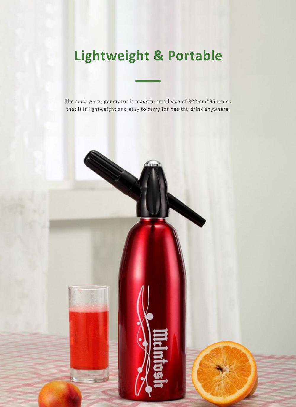 Portable Soda Water Generator DIY Beverage Making Household Aerated Water Machine DIY Cold Drink Producer Juice Maker 3