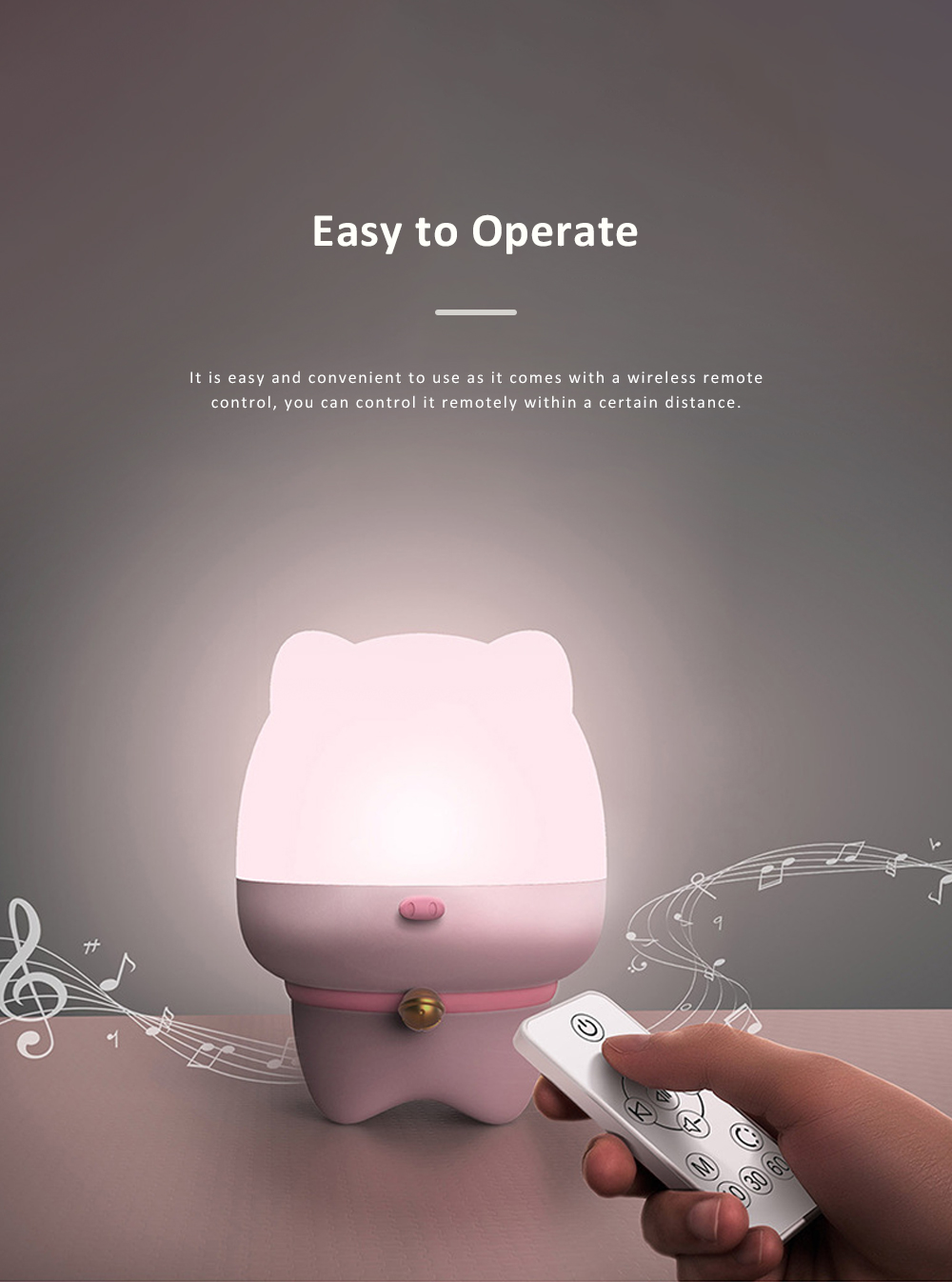 USB Rechargeable Romantic Pet Bluetooth Projection Lamp Rotation Night Lamp Speaker Box With Remote Control 4