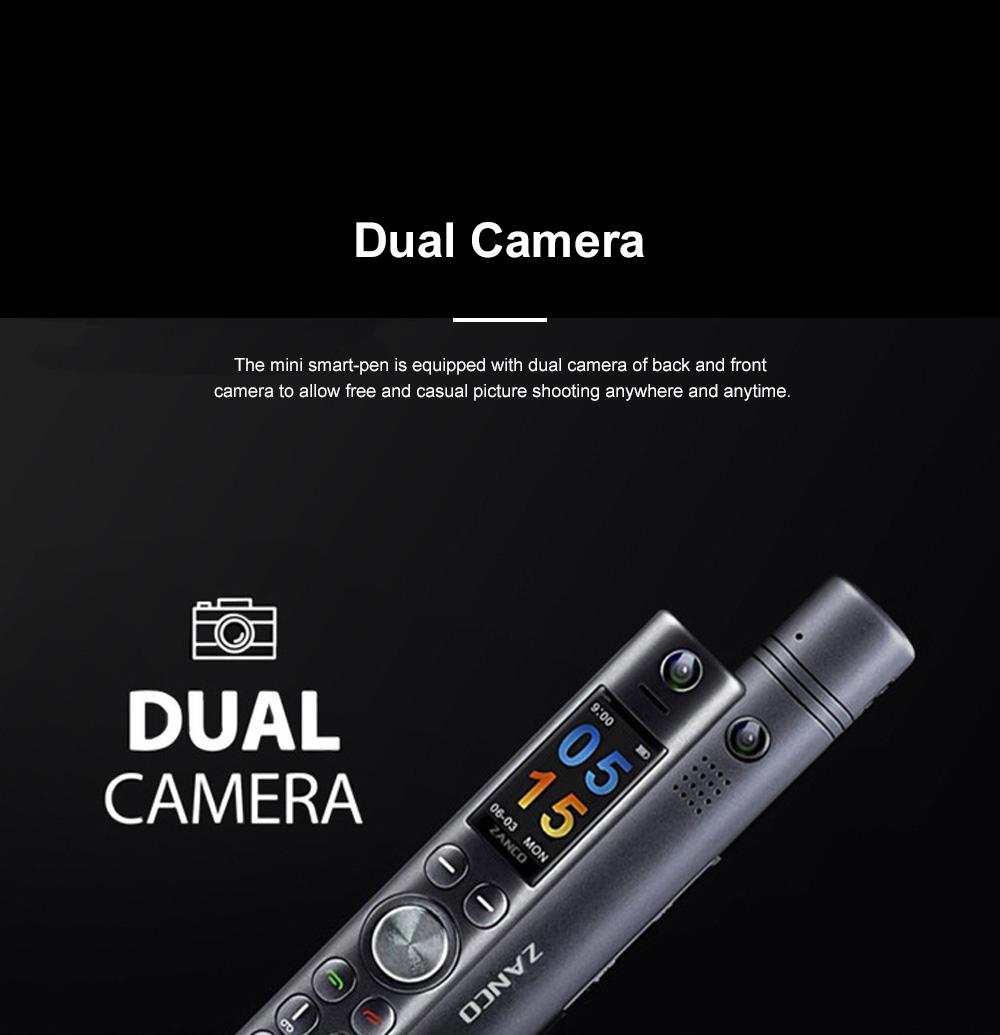 Mini Recording Smart-pen for Multifunctional Portable Exquisite Pen-like Smartphone Laser Pointer Digital Voice Recorder Backup Device 12