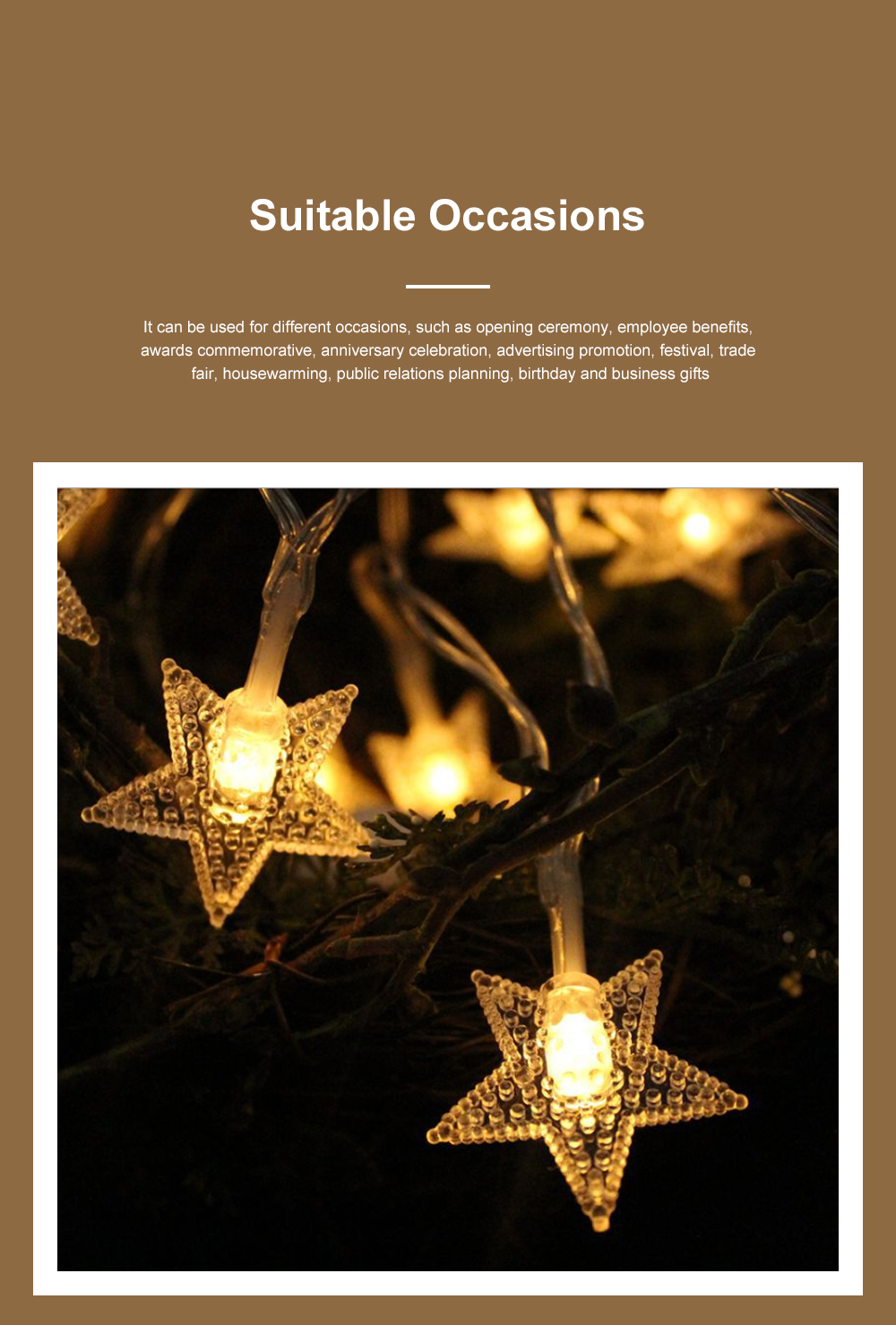 Led Snowflake Bell Christmas Lights Wedding Holiday Home Ceiling Window Door Tree Decoration Led Lights String 4