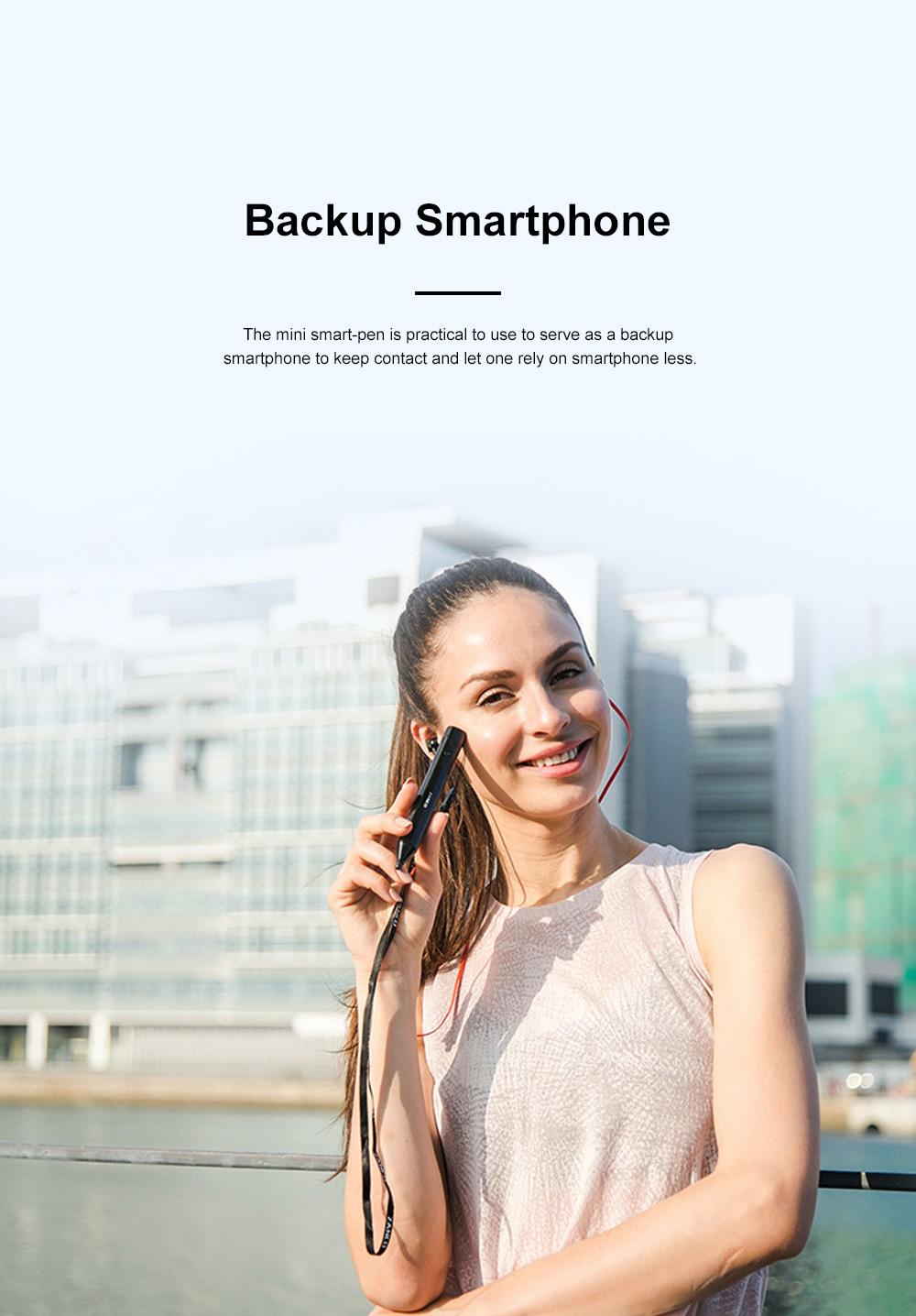 Mini Recording Smart-pen for Multifunctional Portable Exquisite Pen-like Smartphone Laser Pointer Digital Voice Recorder Backup Device 6