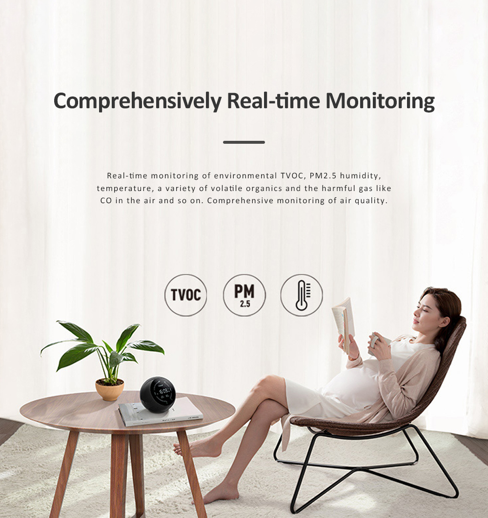 Huawei HONOR TVOC Air Quality Monitor Temperature Humidity PM2.5 Detector for Indoor Real Time Air Pollution Detection 1