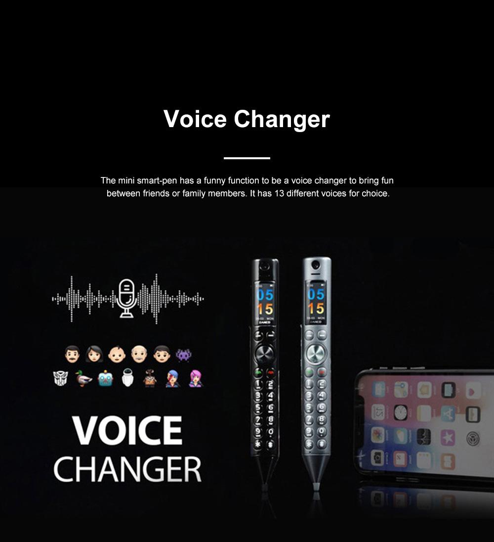 Mini Recording Smart-pen for Multifunctional Portable Exquisite Pen-like Smartphone Laser Pointer Digital Voice Recorder Backup Device 11