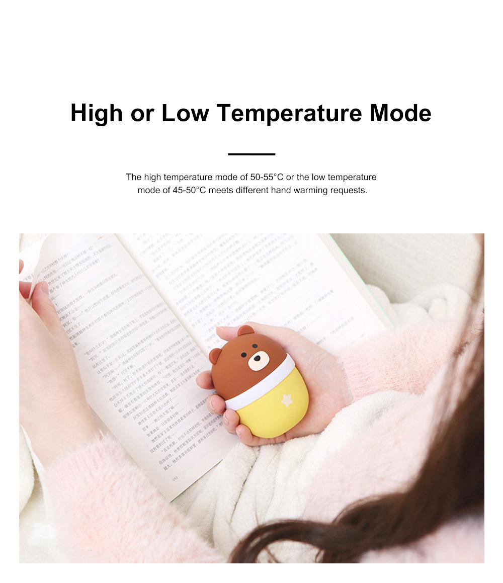 Lovely Pet Hand Warmer Mini Portable Soft Hand Warmer Large Capacity Portable Power Bank Christmas Gift 7