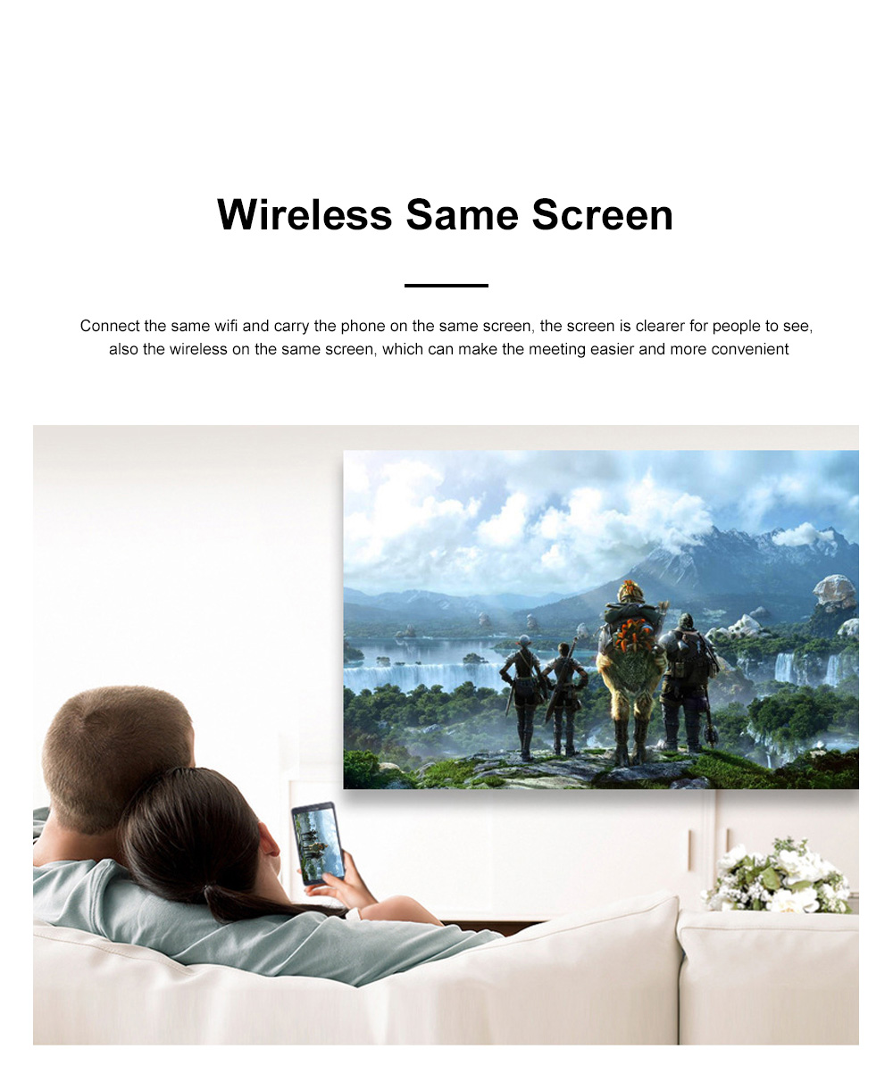 Hot Selling P150 Wireless Portable Projector Wifi Mini Dlp Led Projector Android 6.0 HD 1920*1080P For Home Office Use 8