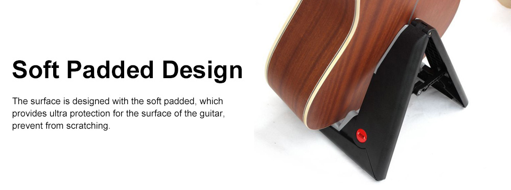 Stable Guitar Stand Adjustable A-Frame Guitar Instrument Stand Acoustic Electric Classical Guitar Holder 5