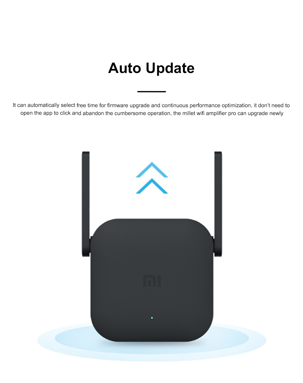 Xiaomi Wifi Repeater Pro Electric Power Cat 2.4G Wireless Range Extender Router Access Point 300mbps Home Plug 300m Signal Amplifier 1