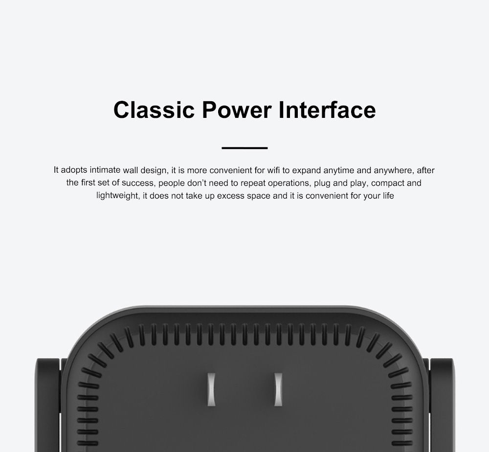 Xiaomi Wifi Repeater Pro Electric Power Cat 2.4G Wireless Range Extender Router Access Point 300mbps Home Plug 300m Signal Amplifier 8