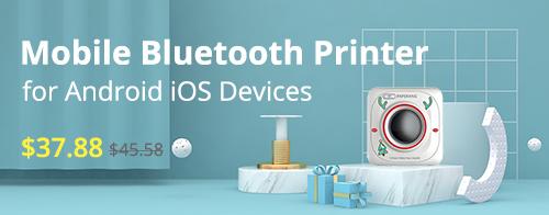 Mobile Bluetooth Receipt Pocket Printer