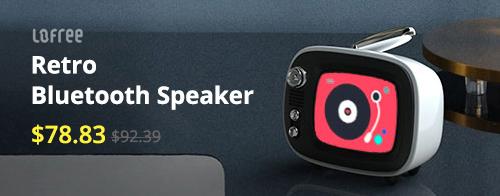 LOFREE Retro TV Mini Bluetooth Speaker