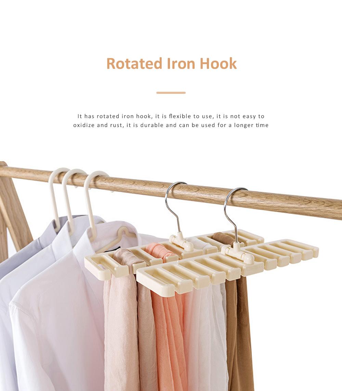 Hot Sale Tie Storage Rack Hanger Belt Racks Scarf Racks Abs Iron Large Belt Storage 5