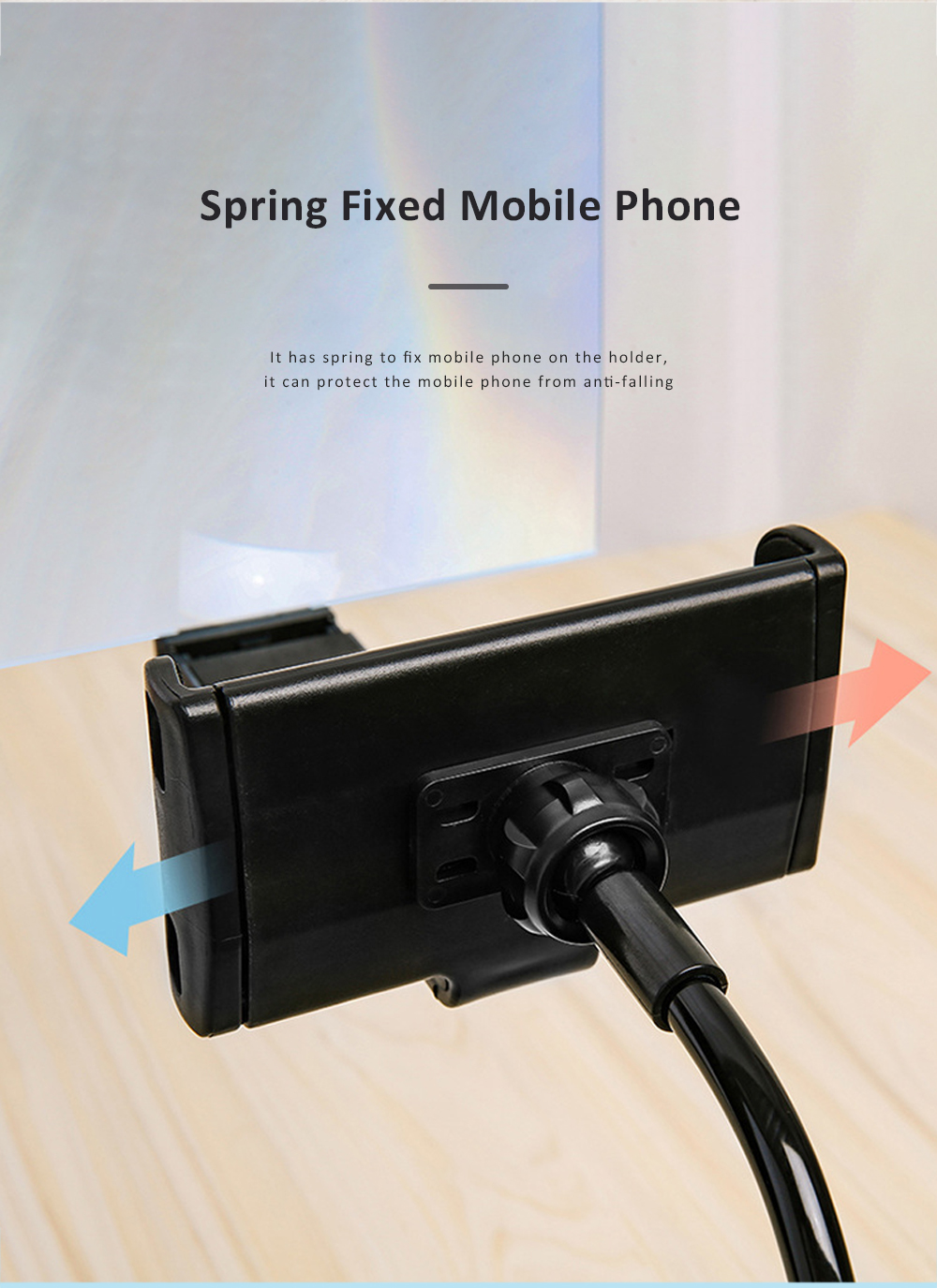 Adjustable Flexible Portable Lazy Cell Phone Support Stand Mobile Phone Tablet Holder And Screen Amplifier 5