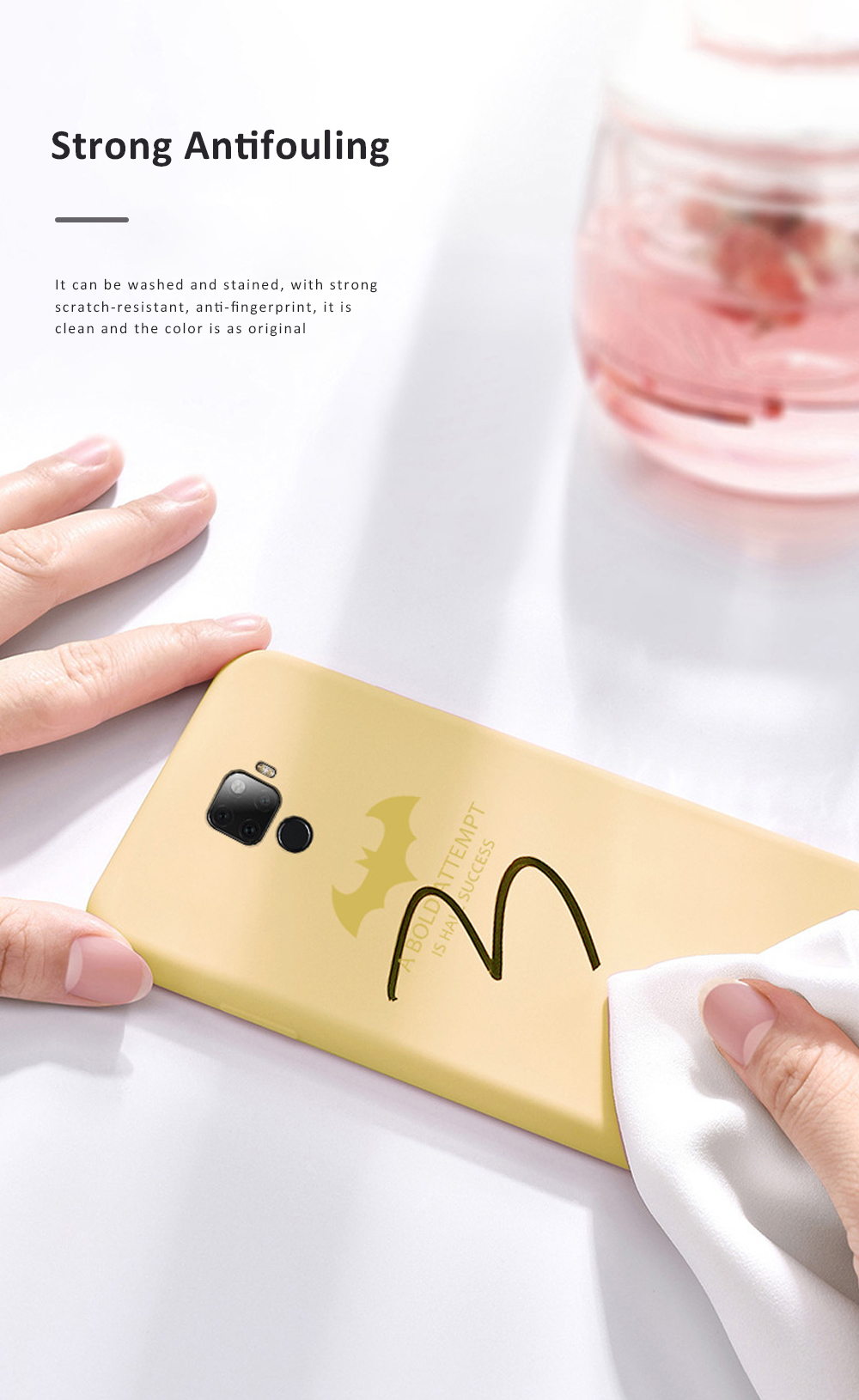 Creative Cool Bat Man Pc Liquid Silicone Mobile Phone Case Shockproof Cover Ultra Thin Back Shell For Huawei Nova 5 Pro 5i Pro Skin Protecter 3