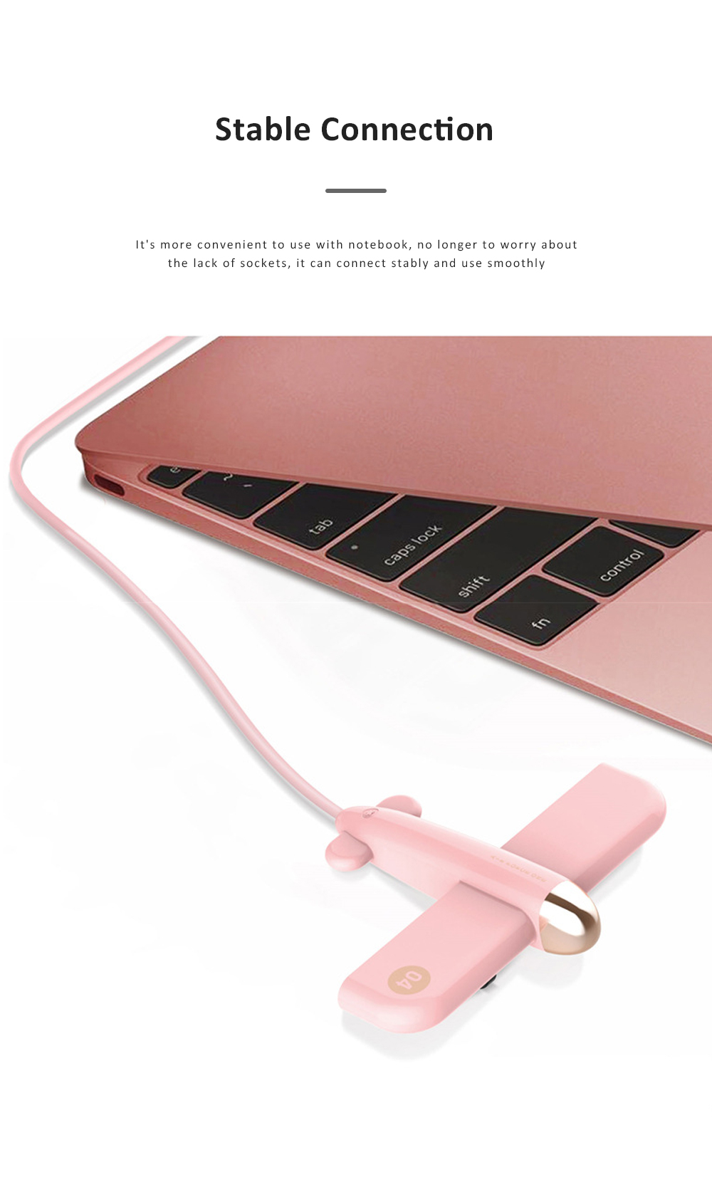 New Ideas Stylish Aircraft Line Divider 4 Ports 2.0 Colorful Gift USB Hub 4 Ports 3.0 High Speed Micro Charging USB Hub 6