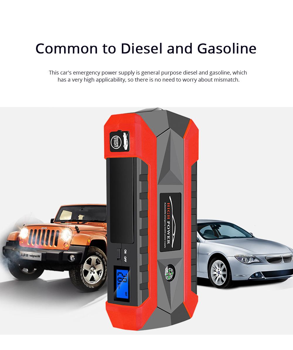 Automobile Emergency Starting Power Supply Automobile Diesel Gasoline Dual Start Standby Power Supply 1