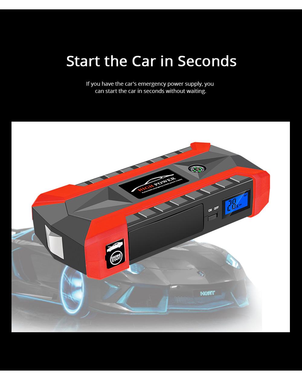 Automobile Emergency Starting Power Supply Automobile Diesel Gasoline Dual Start Standby Power Supply 2