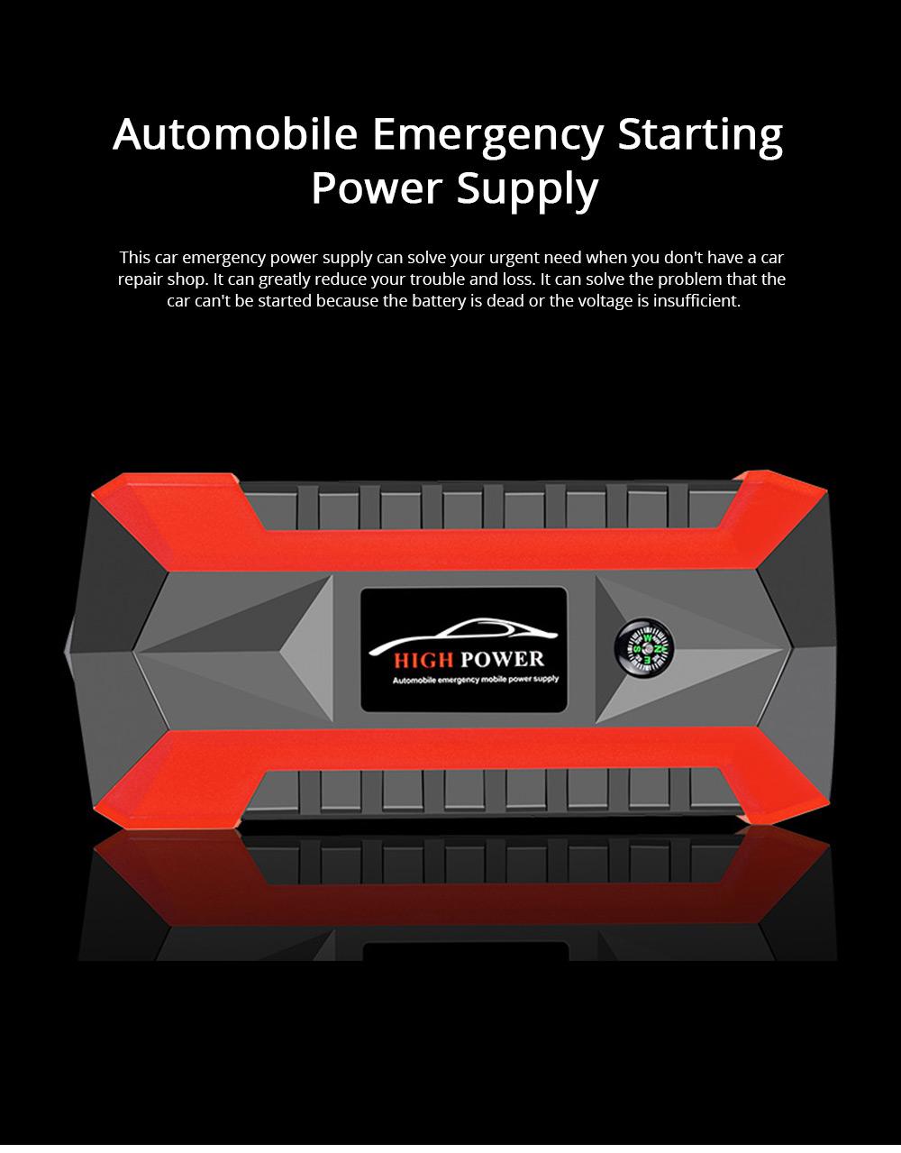 Automobile Emergency Starting Power Supply Automobile Diesel Gasoline Dual Start Standby Power Supply 0