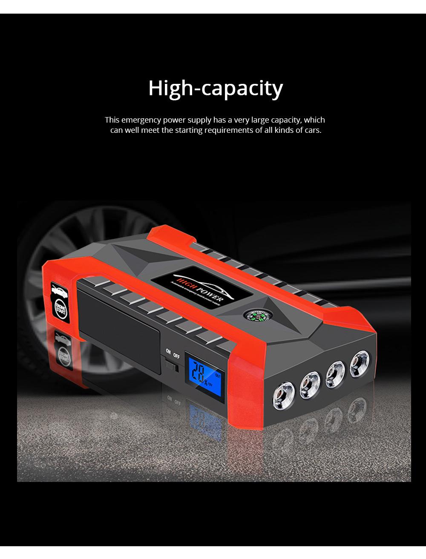 Automobile Emergency Starting Power Supply Automobile Diesel Gasoline Dual Start Standby Power Supply 4