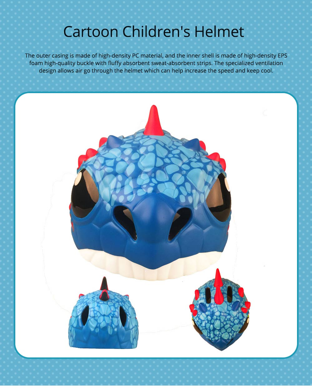 Carton Children's Helmet for Cycling, Sports, Lightweight Safety Protection Cycling Helmet Outdoor Sports Equipment 0