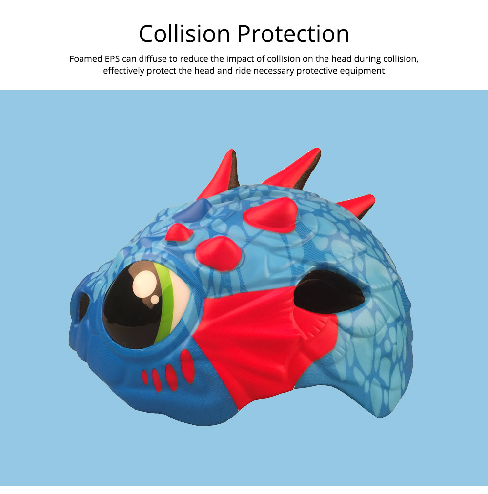 Carton Children's Helmet for Cycling, Sports, Lightweight Safety Protection Cycling Helmet Outdoor Sports Equipment 5