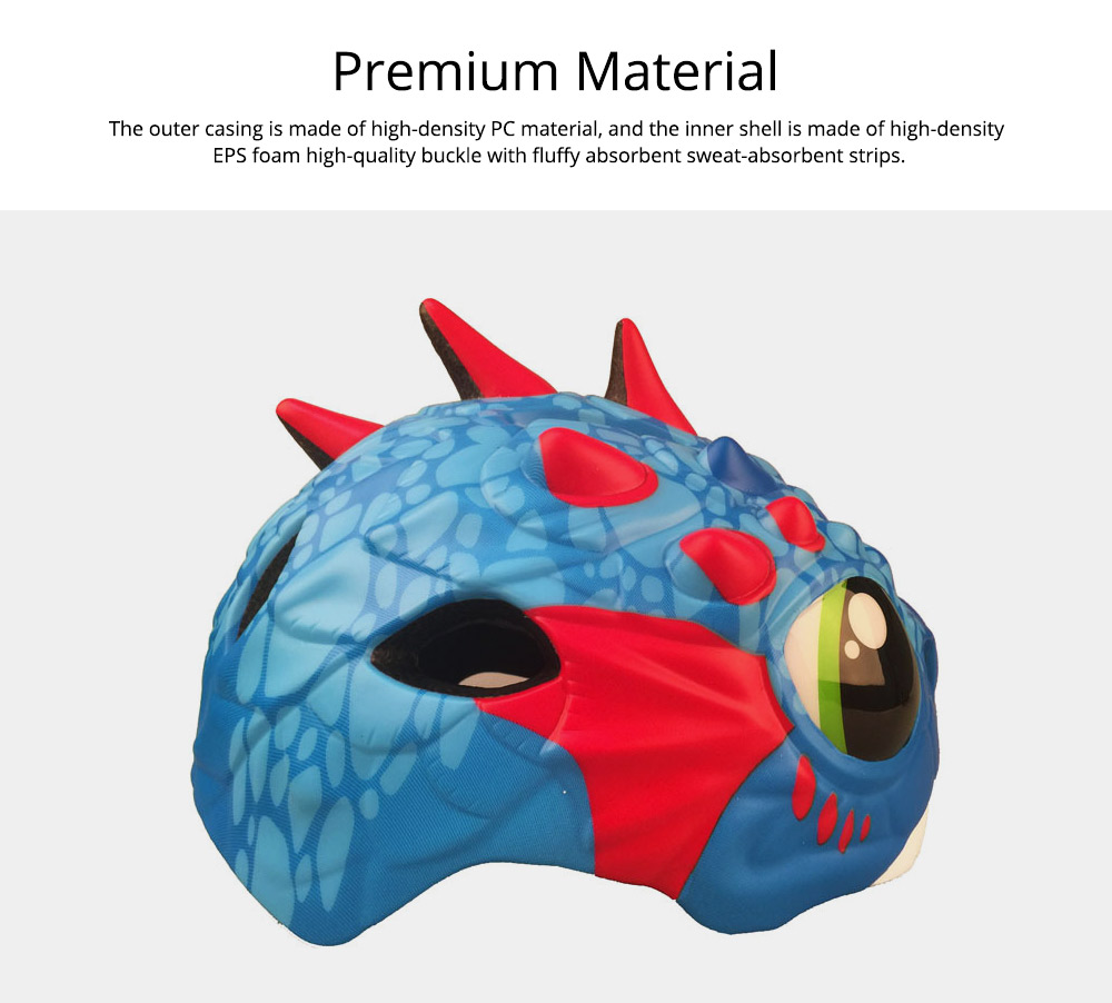 Carton Children's Helmet for Cycling, Sports, Lightweight Safety Protection Cycling Helmet Outdoor Sports Equipment 3