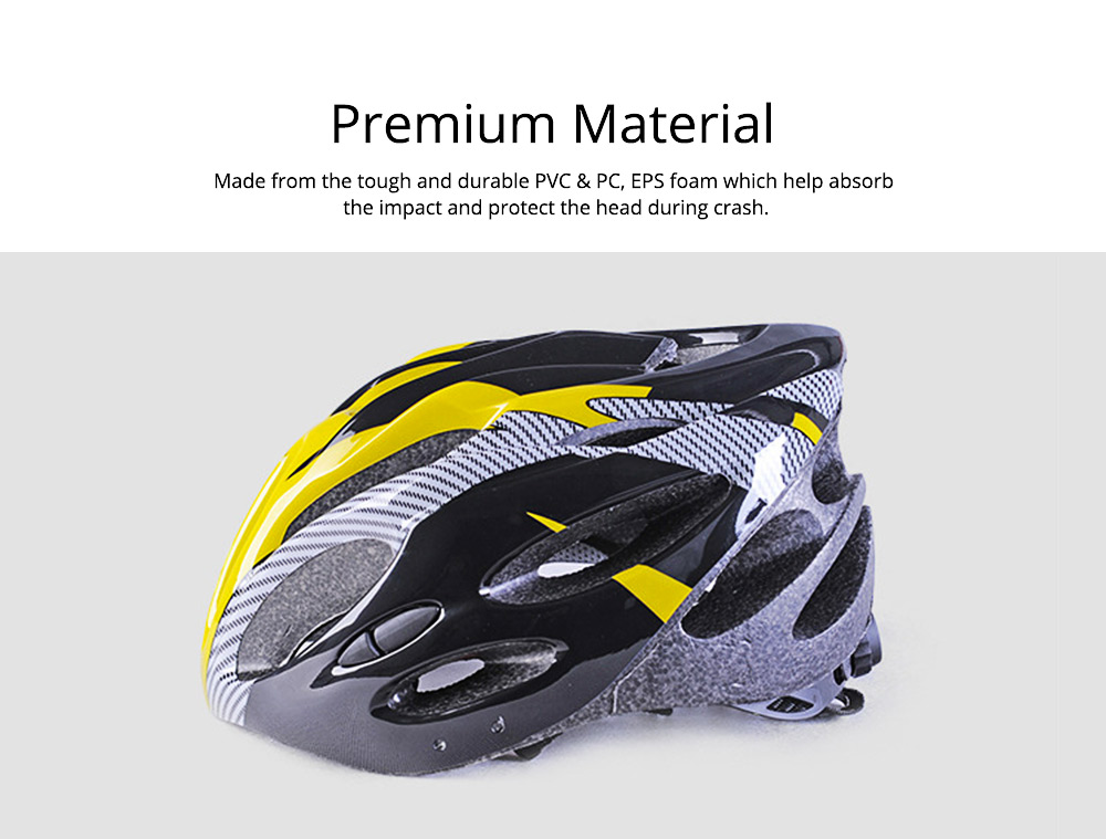Bike Helmet Lightweight Safety Protection Cycling Helmet with 360 Degree Comfort System Dial-fit Adjustment 3