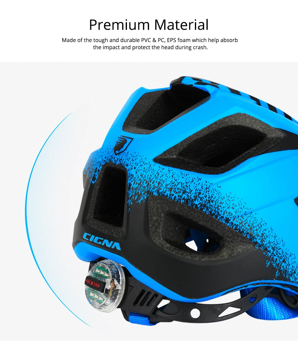 Children's Helmet for Roller Skating, Cycling, Detachable Full Face Helmet Airflow Bicycle Helmets for Kids 3