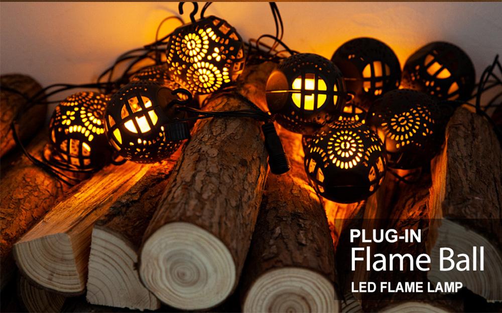 8PCS 3 Meters LED Pumpkin Flame Lamp Fancy Halloween Lights Delicate Hollow Flame Light Sling Infrared Control Pumpkin Light Christmas Decoration Ornament Waterproof 5