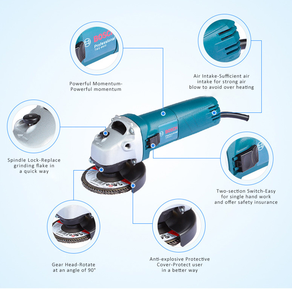 Multifunctional Angle Grinder for Stone and Wood Cutting Metal Polishing Manual Operation Polishing Machine Mini and Lightweight Wood Plate Cutter 2