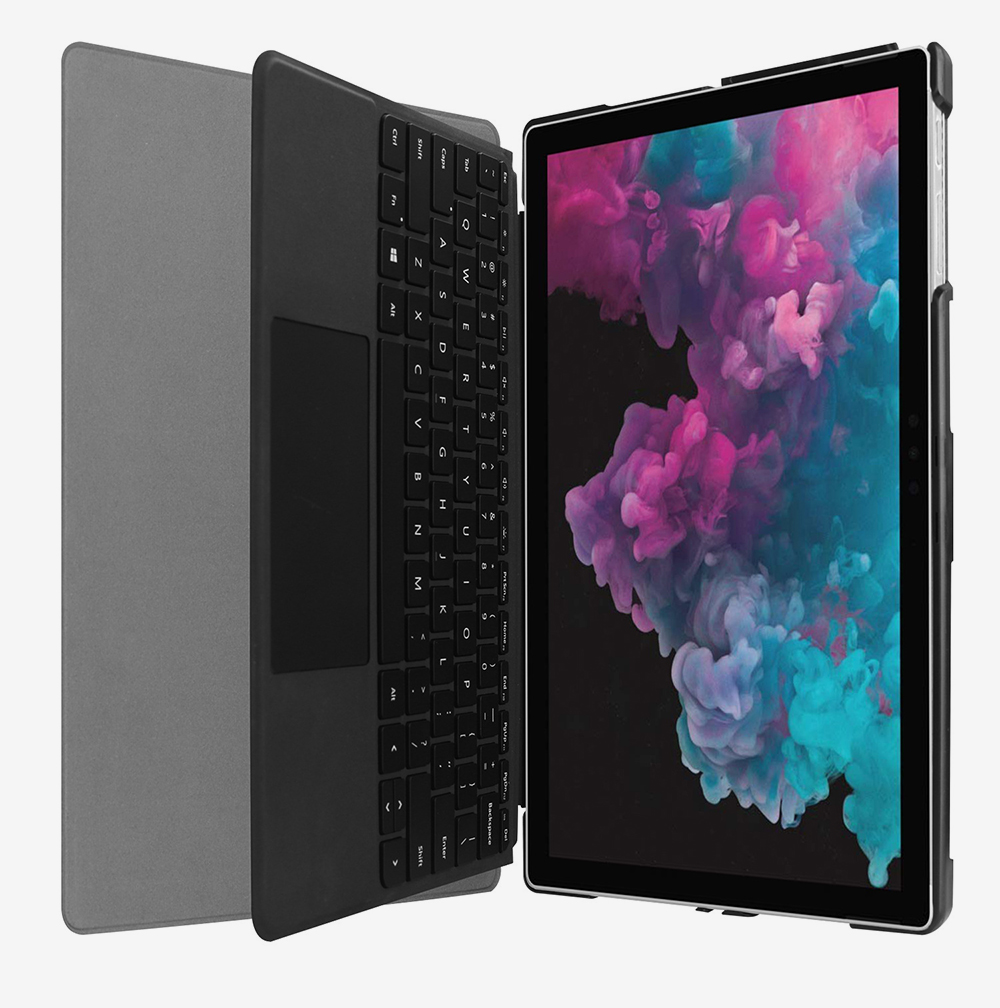 12.3'' Tablet Case for 2018 Surface Pro 4 Pro 5 Pro 6 Microsoft Pro 4 12.3 inch Tablet Leather Case Full Protection Stand Cover 7