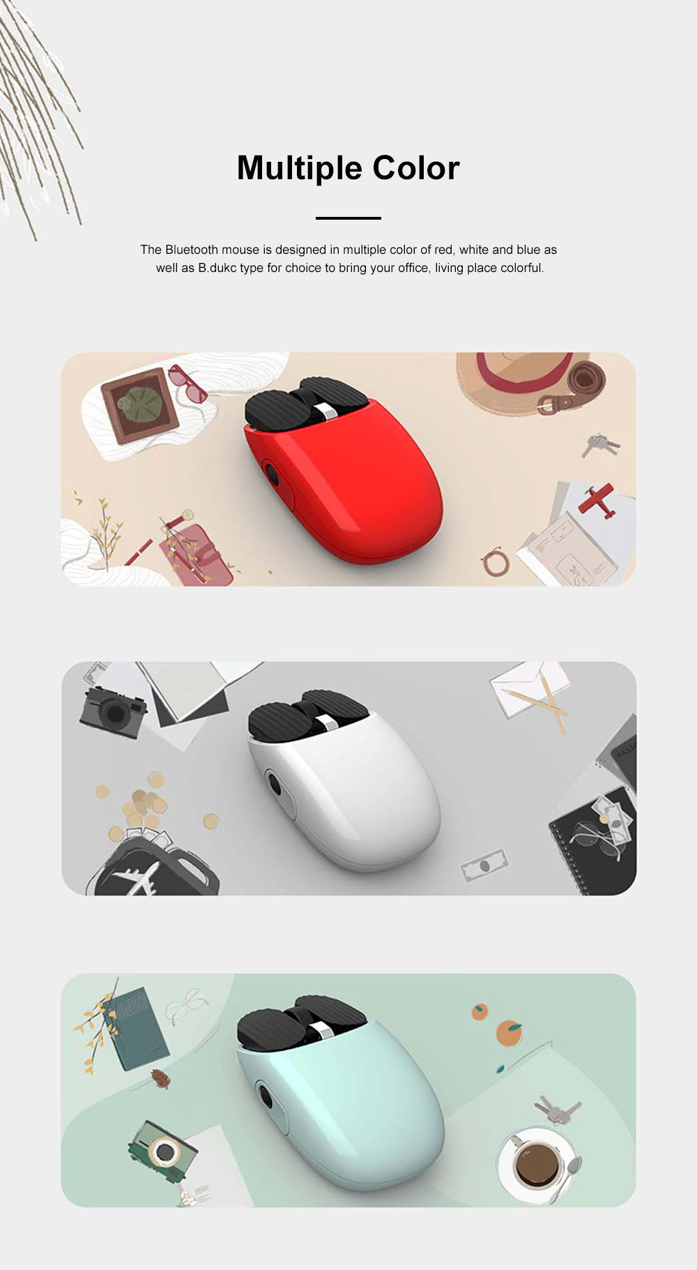 LOFREE New Arrival Bluetooth Mouse for Office Gaming Use Wireless Nordic Bluetooth Chip Optical Mouse Dual Connection Mode Mouse 11