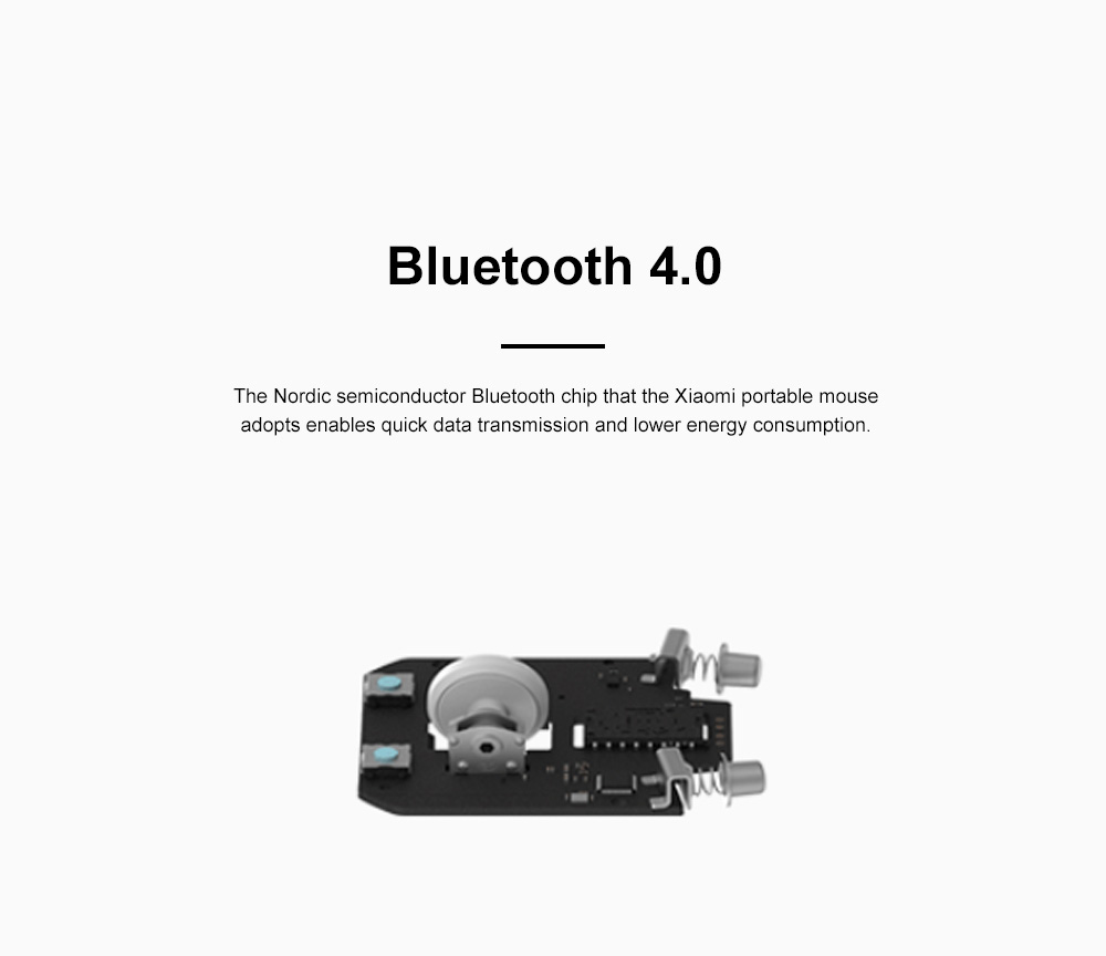 Xiaomi Wireless Bluetooth Mouse for Office Home Lightweight Portable Desktop Computer Mouse Stable Laptop Mouse 4
