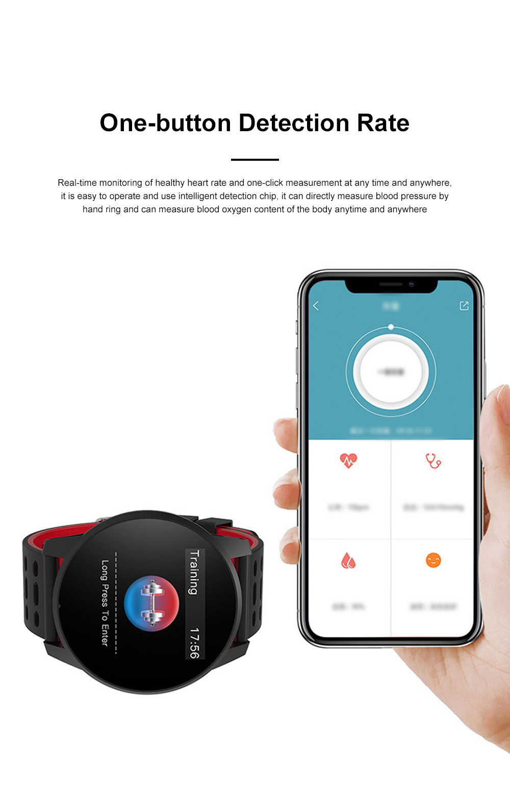 2019 Hot Smart Watch Support Heart Rate Monitor Blood Pressure Bracelet for Ios Android Phone Sport Smart Watch 4