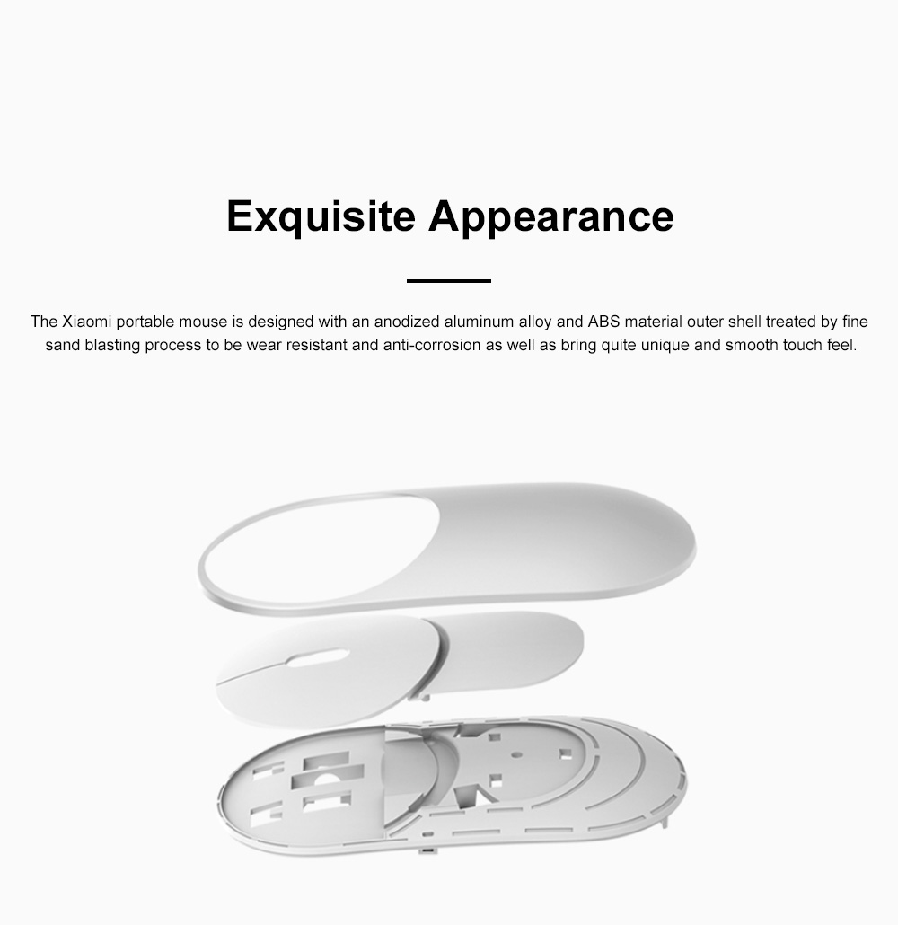 Xiaomi Wireless Bluetooth Mouse for Office Home Lightweight Portable Desktop Computer Mouse Stable Laptop Mouse 2