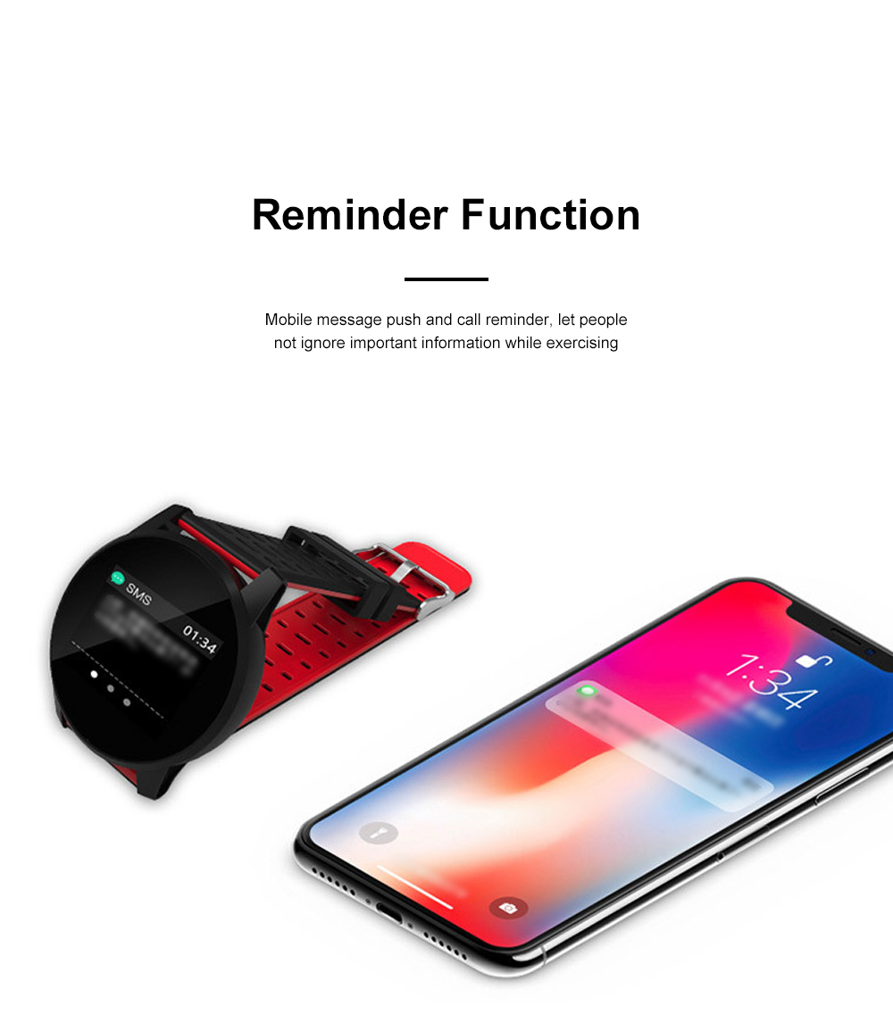 2019 Hot Smart Watch Support Heart Rate Monitor Blood Pressure Bracelet for Ios Android Phone Sport Smart Watch 6