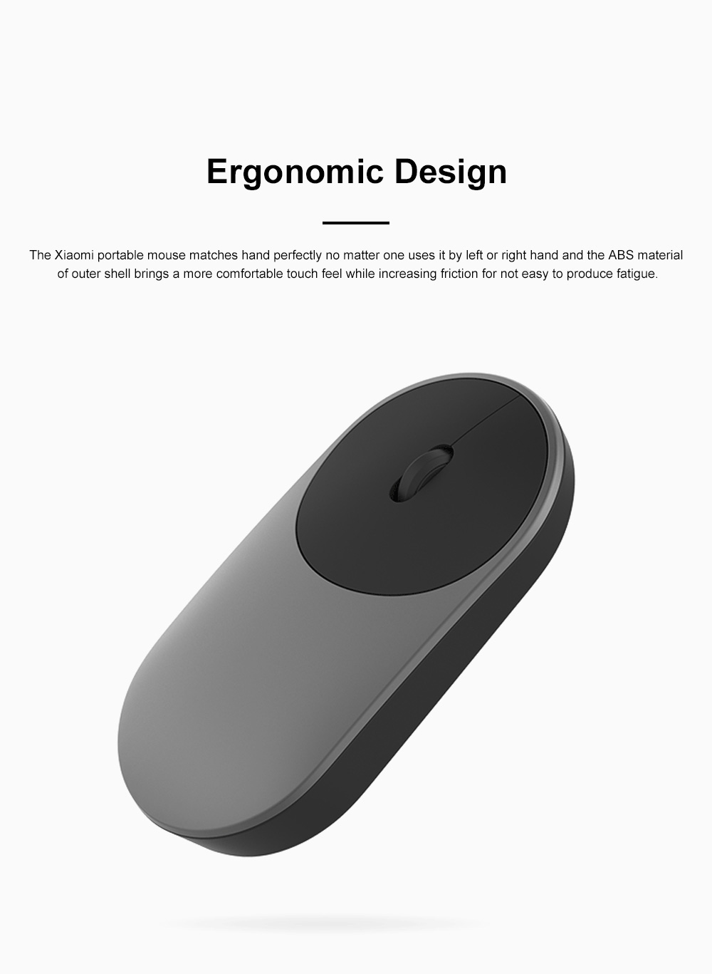 Xiaomi Wireless Bluetooth Mouse for Office Home Lightweight Portable Desktop Computer Mouse Stable Laptop Mouse 8