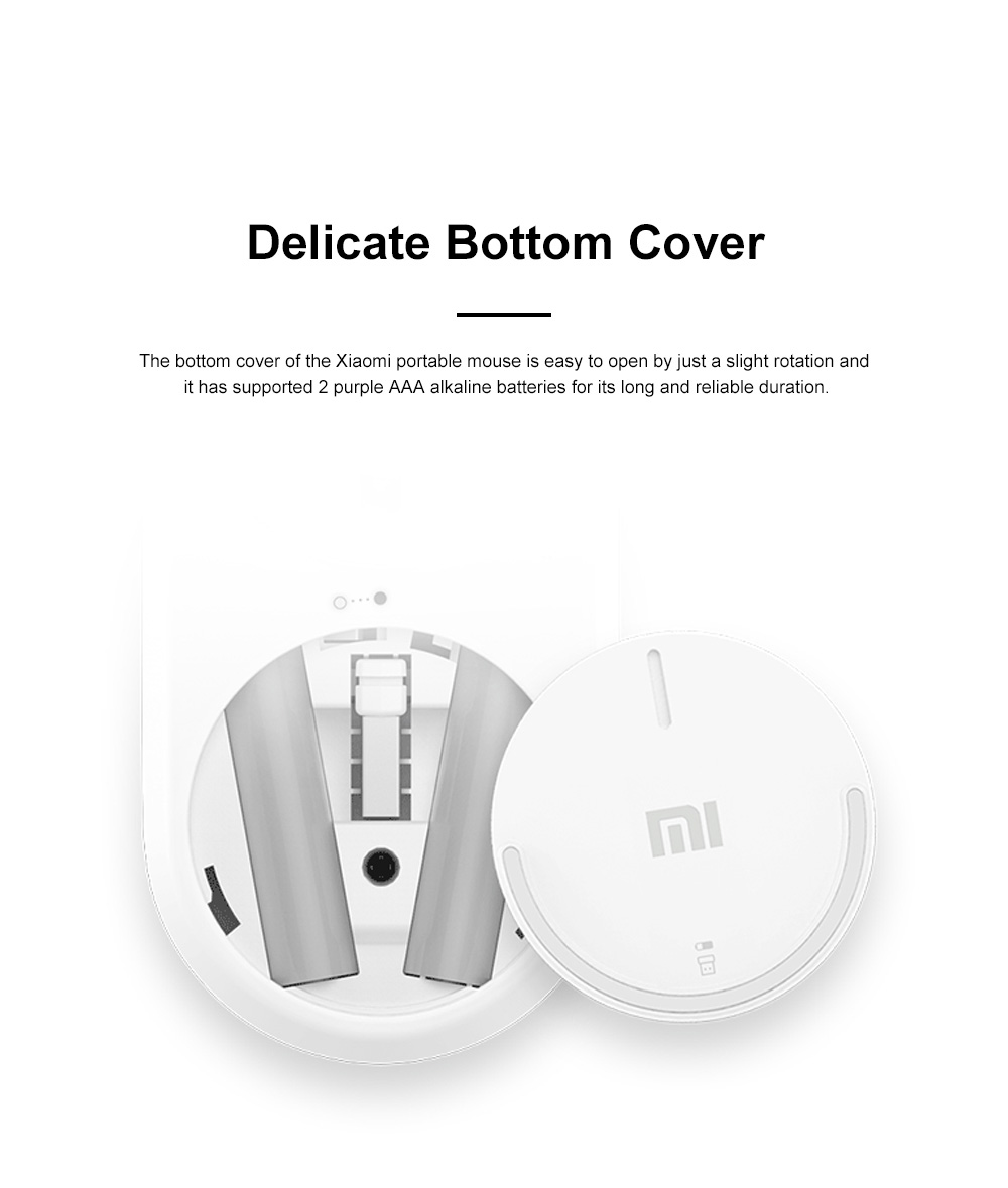 Xiaomi Wireless Bluetooth Mouse for Office Home Lightweight Portable Desktop Computer Mouse Stable Laptop Mouse 7
