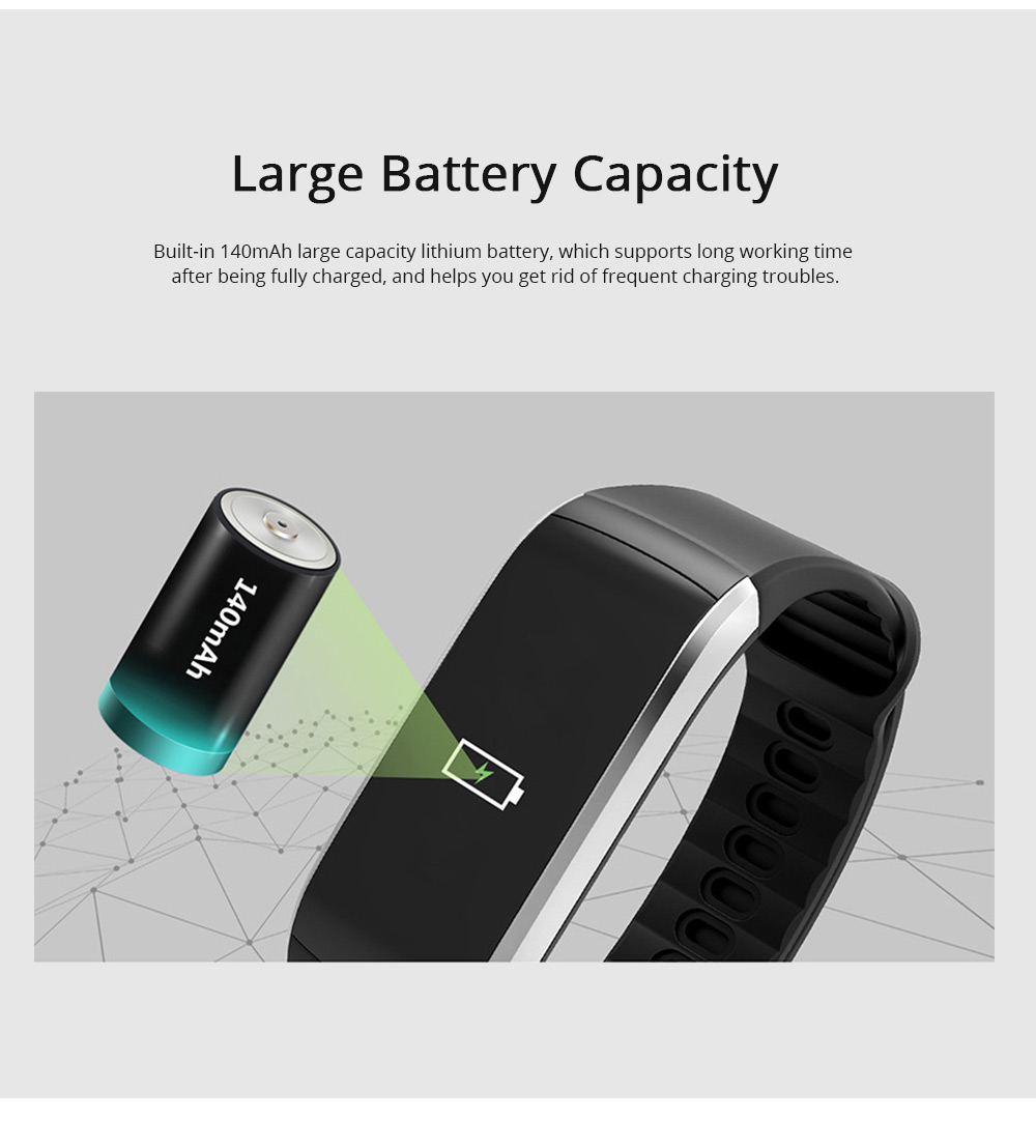 0.96'' TFT IP68 Waterproof Smart Sport Activity Tracker Color Screen Intelligent Tracker Fitness with GPS for Health Management Sleep Monitoring 8