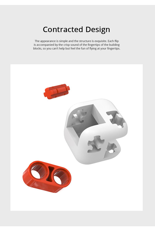 Xiaomi Portable Building Blocks Inspirational Magic Cube ABS Non-toxic Educational Toys for Children Brain Development 4