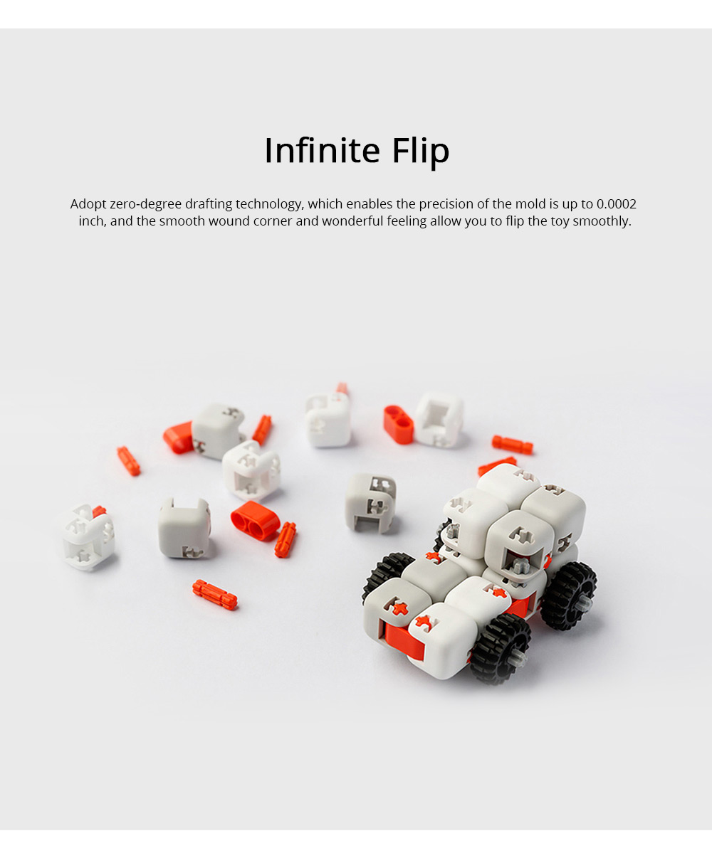 Xiaomi Portable Building Blocks Inspirational Magic Cube ABS Non-toxic Educational Toys for Children Brain Development 2