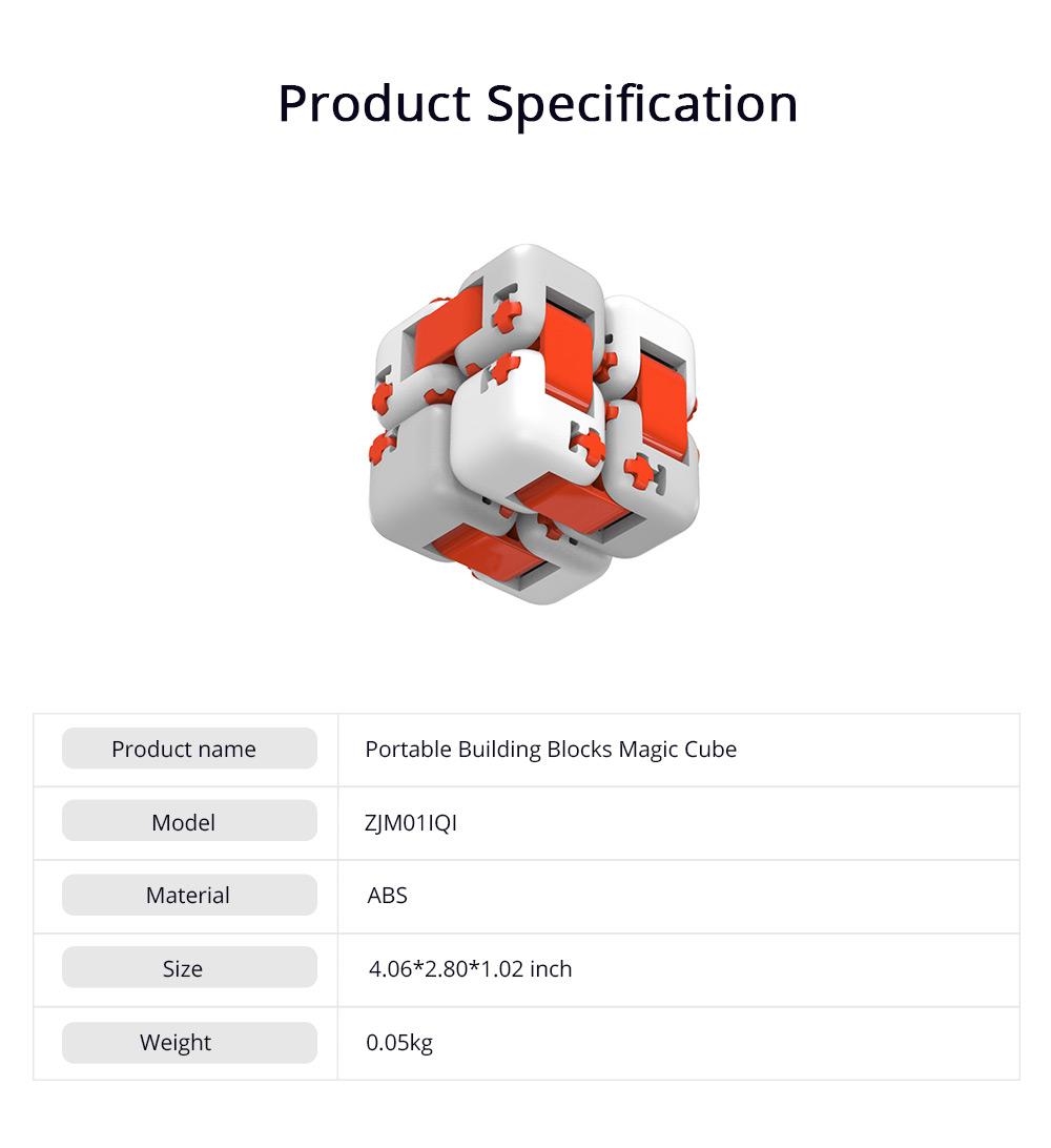 Xiaomi Portable Building Blocks Inspirational Magic Cube ABS Non-toxic Educational Toys for Children Brain Development 6