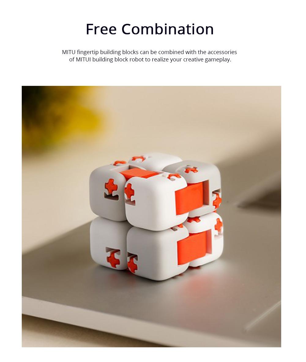 Xiaomi Portable Building Blocks Inspirational Magic Cube ABS Non-toxic Educational Toys for Children Brain Development 5