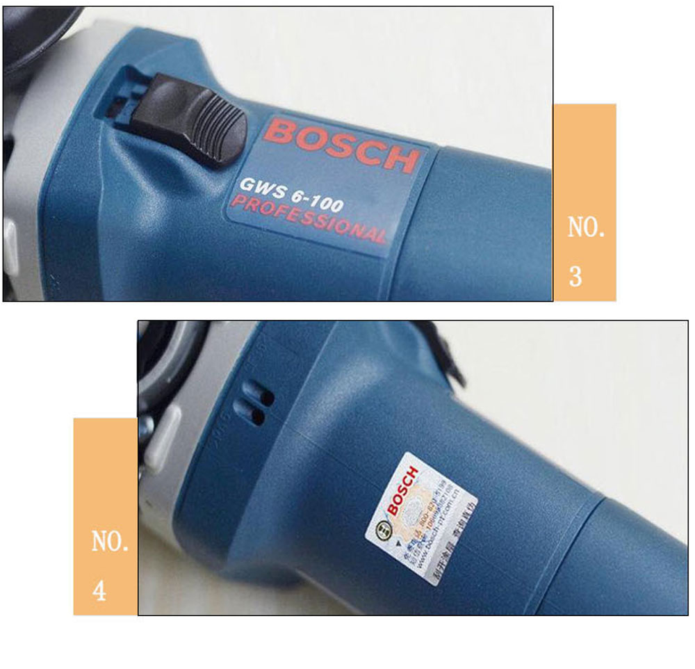 BOSCH Electric Tools Multifunctional Angle Grinder Polishing Grinder Cutting Electric Grinder 4