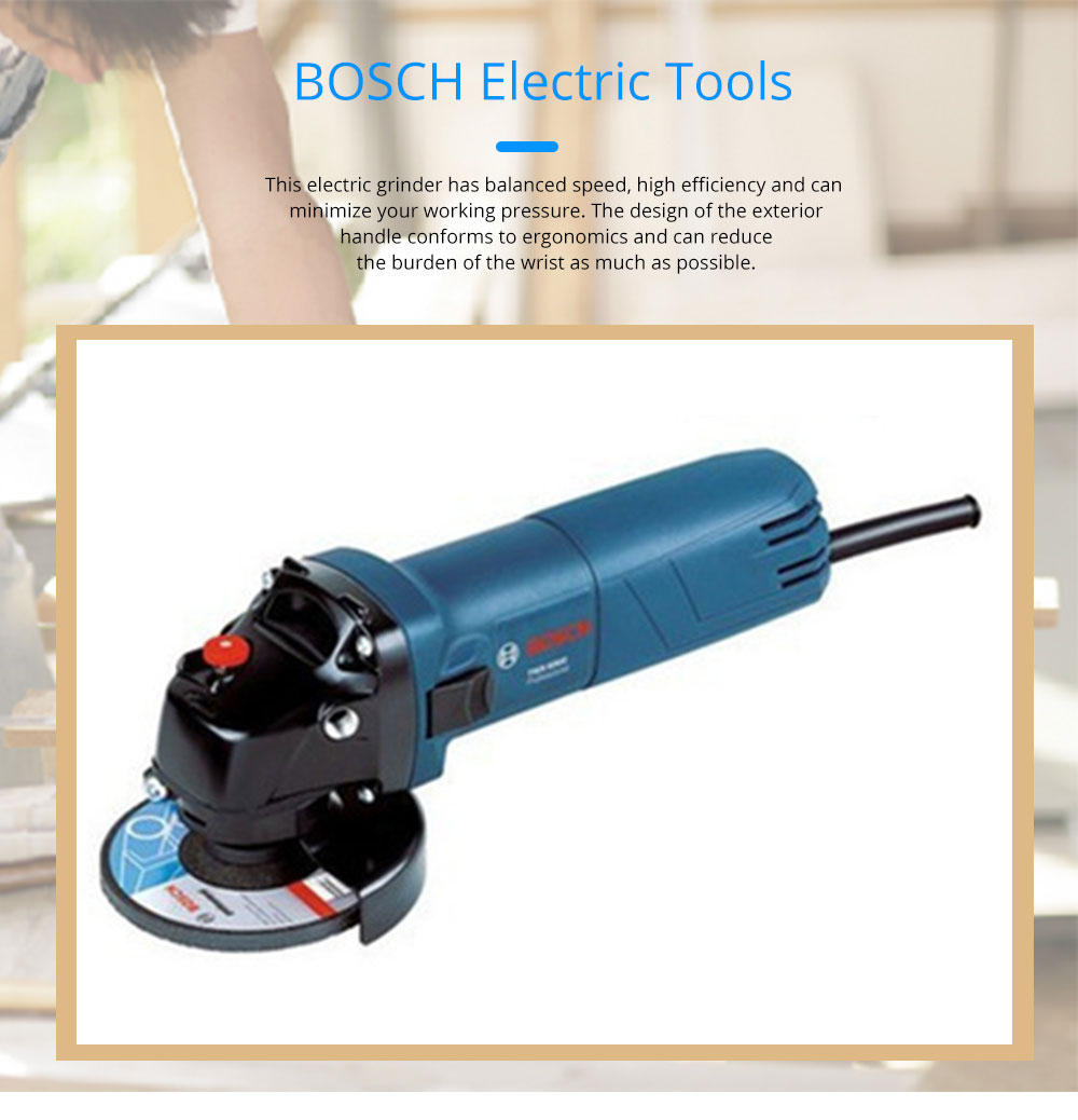 BOSCH Electric Tools Multifunctional Angle Grinder Polishing Grinder Cutting Electric Grinder 0
