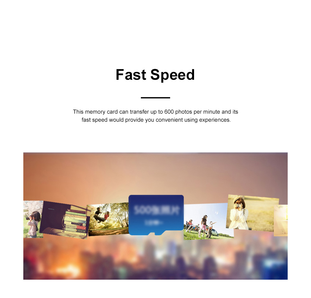 Waterproof Fast-Speed Micro SD Card Mobile Phone Tablet Computer Automobile Data Recorder Memory Card 3