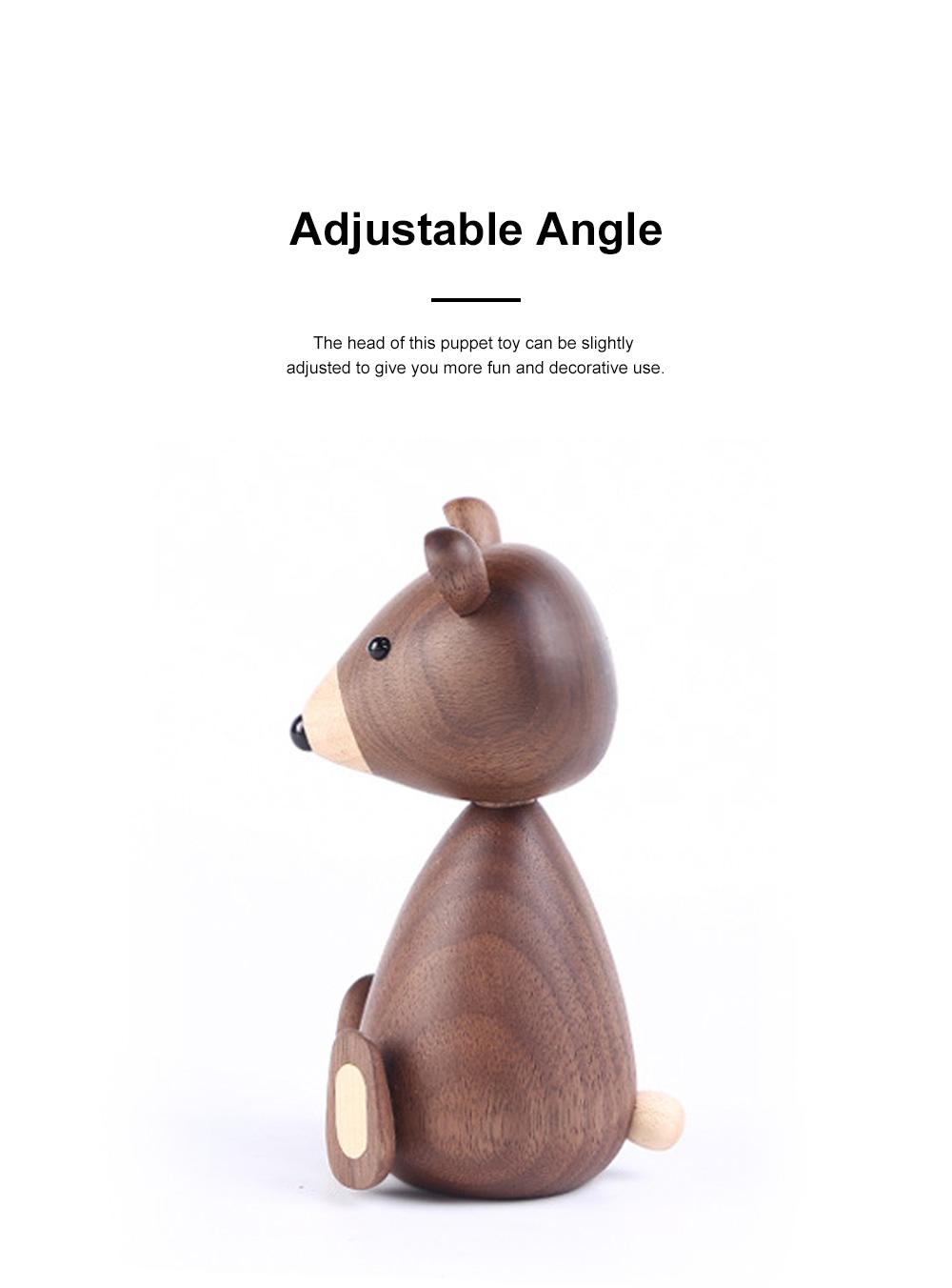 Nordic Creative Puppets Walnut Bears Danish Squirrels Creative Home Furnishings Birthday Gifts 1