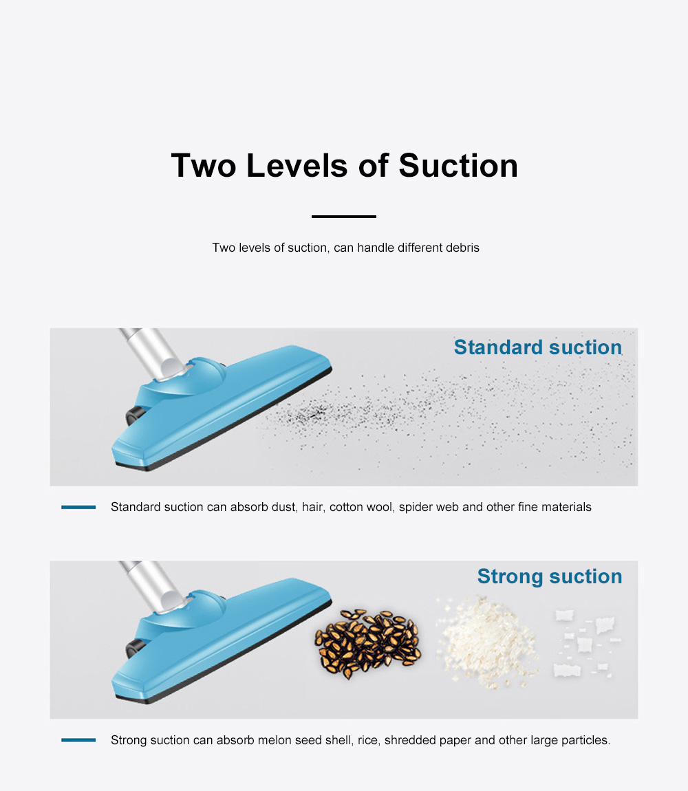 Household Wireless Vacuum Cleaner High Power Charging Push Rod Dual-use Large Suction Hand-held Small Dust Vacuum Cleaner 7