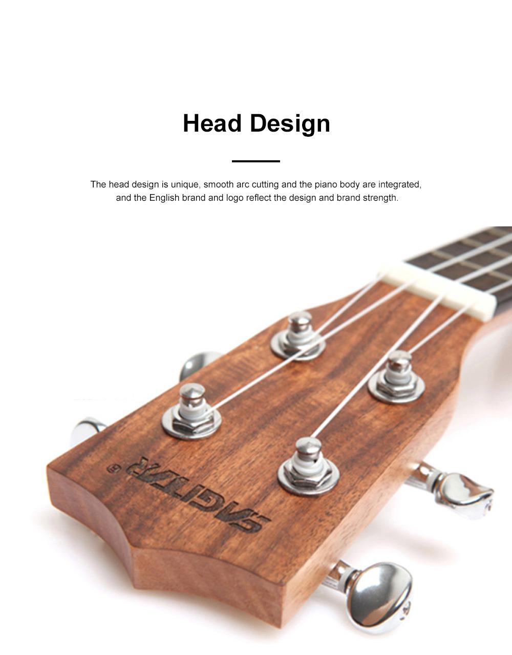 Originality Ukulele Four String 23 inch Guitar with High Level Rose Wood & Head Easy Leaning Ukulele Gift for Beginner 1